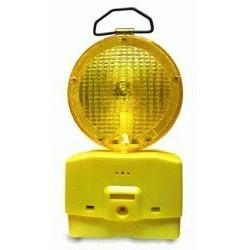 Lampara Señalización Tráfico Amarillo cBatería