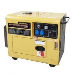 Generador eléctrico 5kva Insonorizado PowerTec Diesel Modelo C5GF - LDN