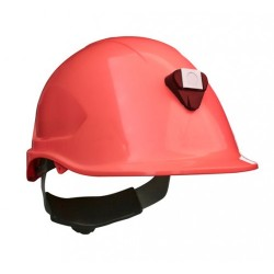 Casco Steelpro MTA con Porta lámparas Blanco