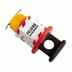 Bloqueo de Breaker Eléctrico Amarillo de 13 mm