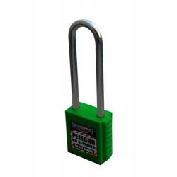 Candado steelpro X10 Long Color verde