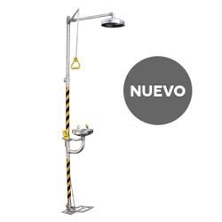 Duchas Lava Ojos INOX 316 con Pedal (BD-550A)